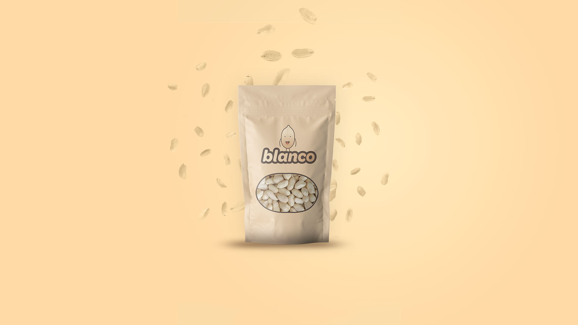 blanco blanched peanut package design